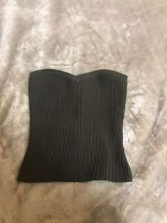 Aritzia knit tube top