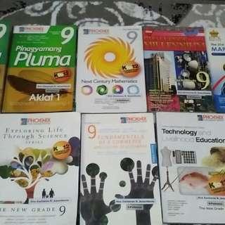 Grade 9 School Books