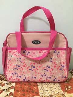 Fiffy Diaper Bag (pink color)