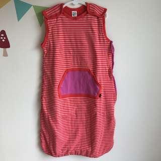 Bonds Red Sleeping Bag - Size 1/2