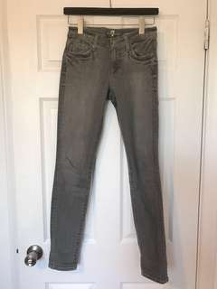 7 for all mankind Grey Denim Size 25