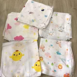 Kids baby handkerchief