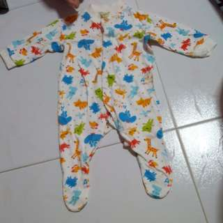 Baby Cover Toes Sleepsuit