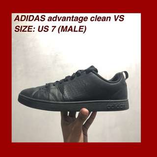 Adidas advantage clean VS (black)