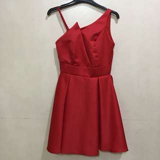 RED COCKTAIL DRESS FOR RENT