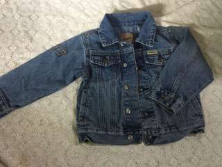 Authentic Levi's denim jacket for girls