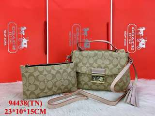 Coach Label 2in1