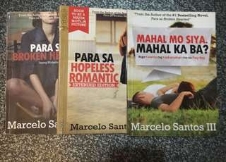 Marcelo santos 3 books