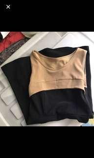 歐美 裸黑 洋裝