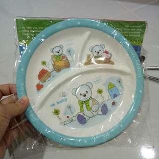 Melamin Kids Plate