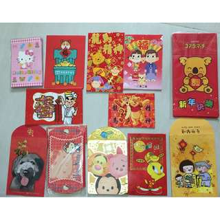 lai see cartoon figure pooh disney chocolate rain lotte hello kitty