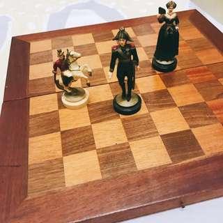 🚚 20年前從國外購入 人偶西洋棋