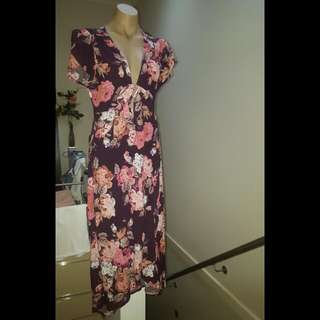 BNWT dotti Floral maxi dress