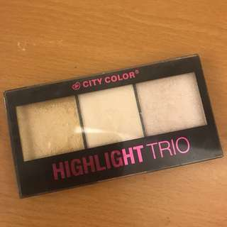 City Color Higlighter Trio