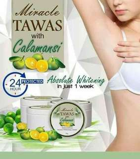TAWAS with Calamansi Cream