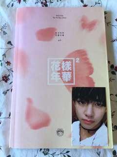 BTS HYYH pt 2 album (peach ver.)