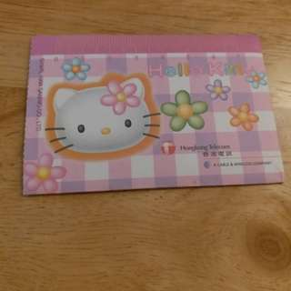 (1998年香港電訊)Hello Kitty Phone Card