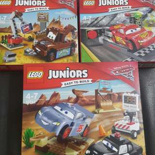 Lego junior pixel cars 10730 10733 10742
