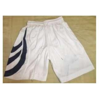 White Sports Shorts ~ BRAND NEW - Across waist 25cm, Length 40cm