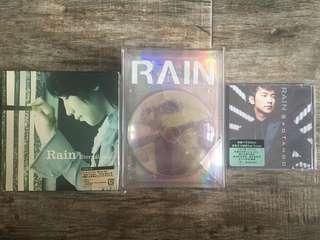 Rain-鄭智薰全新 CD 未開