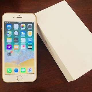 Unlocked White iphone 6 128G in box