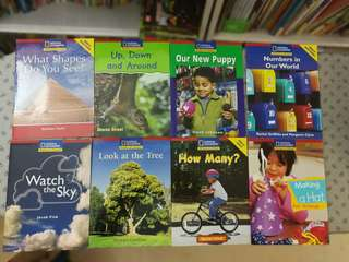 National Geographic: Windows on literacy series, 8 books