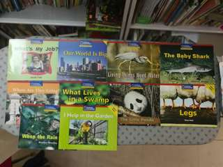 National Geographic: Windows on literacy, 10 books