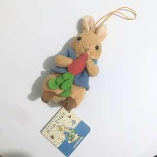 Peter rabbit 比得兔 公仔掛件鎖匙扣