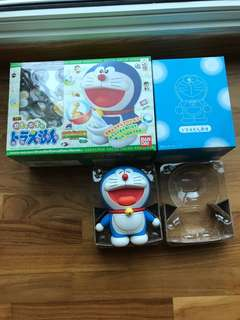 Gacha Gacha Doraemon Chogokin (2006 Movie Ver.) Nobita's Dinosaur Set.