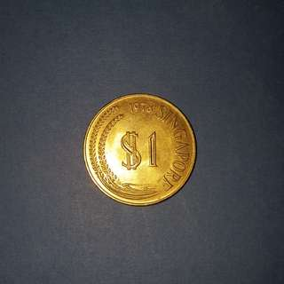 $1-lion coin 1978