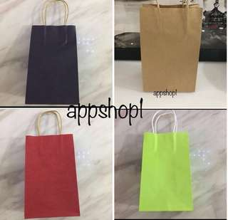Paper bag- event goody bag, party goodies bag carrier