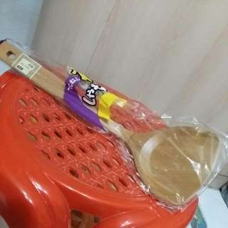 Wooden Turner or Spatula