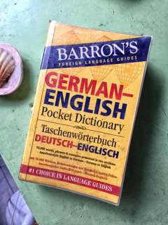 Barron's Foreign Language Guide (German-English)