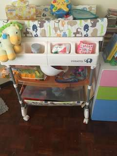 Baby Changing Table, Bath tub, Storage (All in 1)