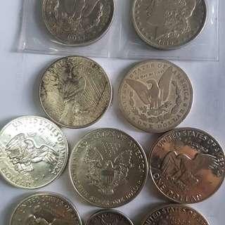 Rare Silver Old Coins
