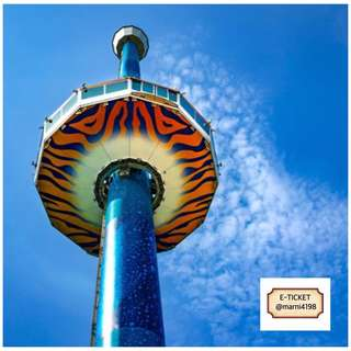 Tiger Sky Tower Sentosa Open Date Etickets