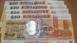 Singapore first polymer note