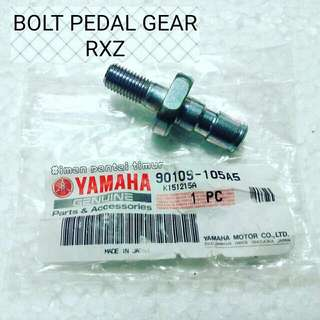 BOLT PEDAL GEAR RXZ MADE IN JAPAN RM45