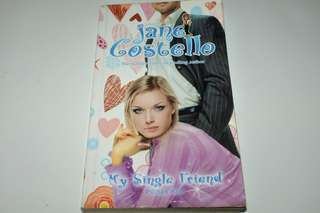 Novel My Single Friend - Jane Costello