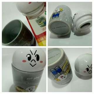 Line Friends MOON ceramic Mug