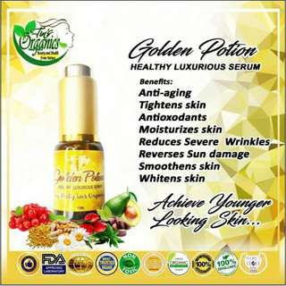 Golden Potion Organic Facial Serum