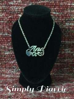 "Stainless Necklace ""Ana"""
