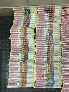 阿林書房--狐忍 Naruto 頭50期散書如圖 書邊有黃 60~80%新 正文社 自用書 漫畫林