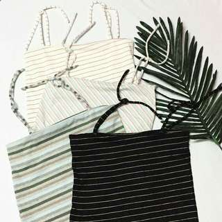 Stripe Ribbon Top