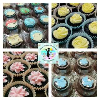 Bestseller! Moist Belgian Chocolate Cupcakes for Different Theme Parties