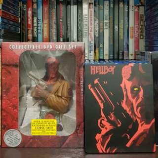 Hellboy Collectible DVD Giftset with bust and Hellboy Steelbook