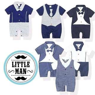 Little Man Baby Apparel