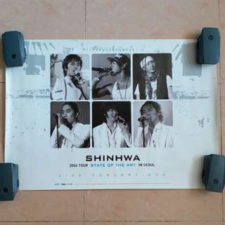 Shinhwa 神話 珍藏海報 poster