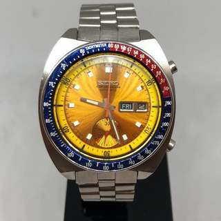 "🇯🇵Vintage SEIKO ""Pogue"" Chronograph 6139 - 6002 Automatic Watch"