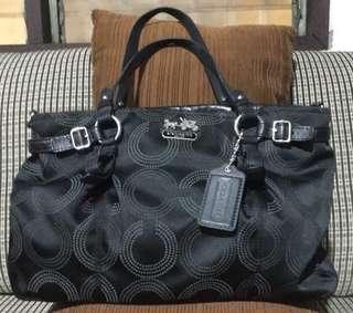 Authentic coach bag 16366